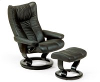 Stressless Eagle Large Recliner and Ottoman