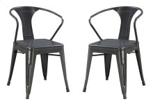Emerald Home Dakota Dining Chair Gunmetal Gray D131-20