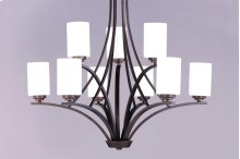 Deven 9-Light Chandelier
