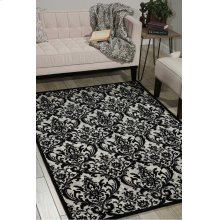 Damask Das02 Black/white