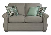 Whitney Fabric Loveseat with Nailhead Trim