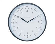 Black Emily Wall Clock - Large