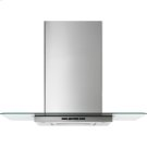 """Glass Collection Wall-Mount Canopy Hood, 30"""", Euro-Style Stainless Handle Product Image"""