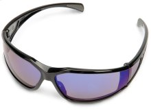These protective glasses feature great comfort and wrap-around protection.