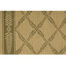 Chateau No01 Ivory Green Broadloom