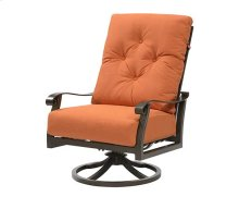 Chatham II - Swivel Rocker Lounge Chair Sunbrella #48026 Cayenne