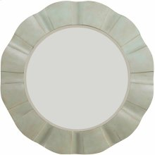 Sunset Point Round Wave Mirror