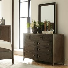 Joelle - Nine Drawer Dresser - Carbon Gray Finish