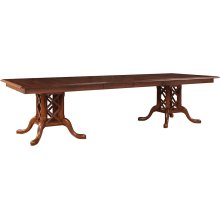 Geneva Double Pedestal Table