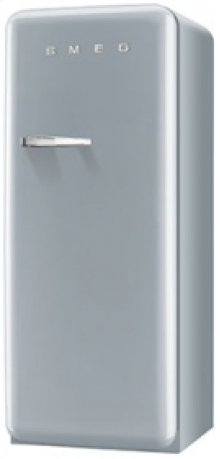 50 S Style Refrigerator with ice compartment, Silver, Left hand hinge