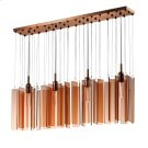 Chimes 4 Light Rectangle Pendant Product Image