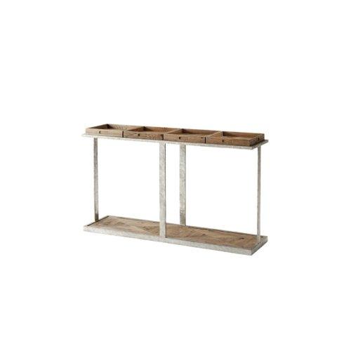 Six Console Table, Echo Oak