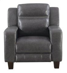 Emerald Home Beckett Power Recliner With Power Headrest-gray Leather-u7143-43-03