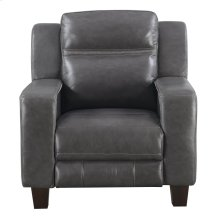 Emerald Home Beckett Power Recliner With Power Headrest-gray Leather-u7143-43-03
