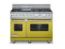 "48"" Sealed Burner Dual Fuel Electronic Control Range, Propane Gas"