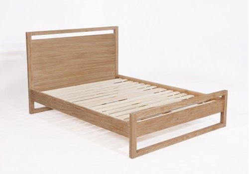Vadstena Bed - Full, Almond Finish