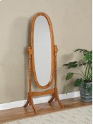 """Nostalgic Oak"" Cheval Mirror (G) Product Image"