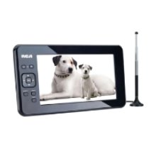 "Portable Digital TV 7"" Widescreen LCD"