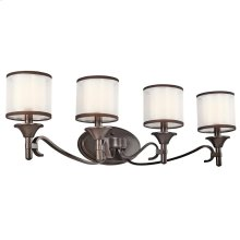 Lacey Collection Lacey 4 Light Bath Light - Mission Bronze