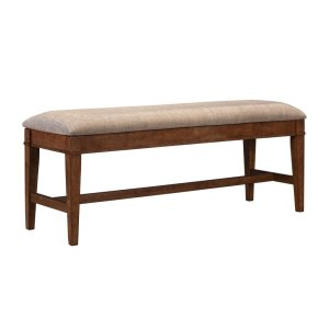 A AmericaUPHOLSTERED BENCH