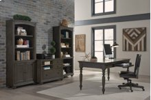 Combo File (Available in Whiskey Brown or Peppercorn Grey Finish)