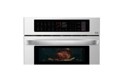 1.7/4.7 cu. ft. Smart wi-fi Enabled Combination Double Wall Oven