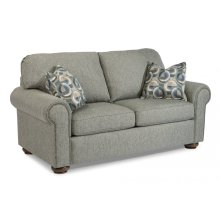 Preston Fabric Loveseat with Nailhead Trim