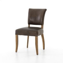 Pampas Charcoal Cover Antique Oak Finish Mimi Dining Chair