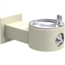 Elkay Outdoor Fountain Wall Mount Non-Filtered, Non-Refrigerated Freeze Resistant Beige