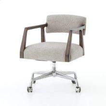 Ives White Grey Cover Tyler Desk Chair