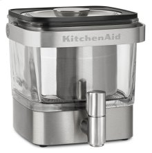 Cold Brew Coffee Maker - Brushed Stainless Steel