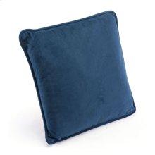 Navy Pillow Navy Velvet