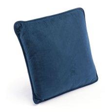 Navy Pillow Navy Velvet Product Image