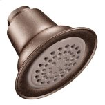 "MoenMoen oil rubbed bronze one-function 3-1/2"" diameter spray head eco-performance showerhead"