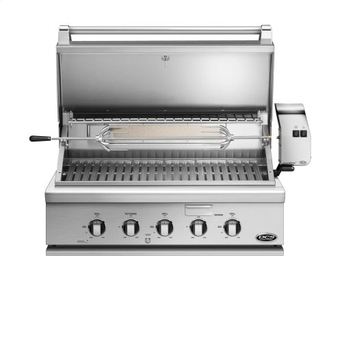 """36"""" Traditional Grill With Rotisserie"""