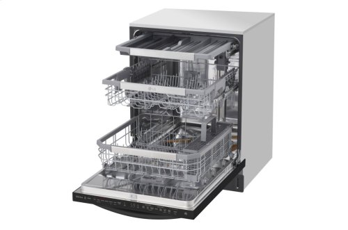 Top Control Smart wi-fi Enabled Dishwasher with QuadWash and TrueSteam®