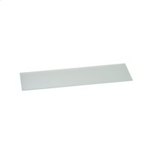 """Glass cover, matt-finished, 41 3/4"""", thickness 1/4"""", whith spacer. Necessary accessory when combined with any gas cooktop."""