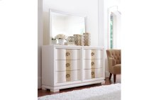Tower Suite - Pearl Finish Landscape Mirror
