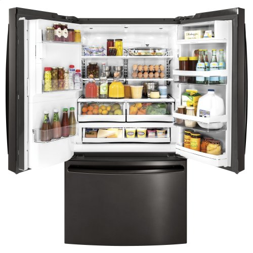 GE Profile™ Series ENERGY STAR® 27.8 Cu. Ft. French-Door Refrigerator with Keurig® K-Cup® Brewing System