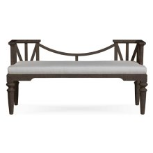 Sienna Bench - Premium Fabric
