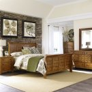 Queen Sleigh Bed, Dresser & Mirror, Chest, N/S Product Image