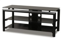 """44"""" Wide Stand Accommodates Most 50"""" and Smaller Flat Panels"""