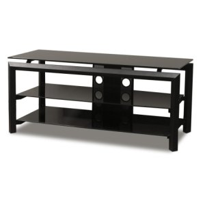 "Techcraft44"" Wide Stand Accommodates Most 50"" and Smaller Flat Panels"