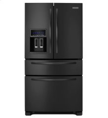 24 Cu. Ft. Standard-Depth Four Door French Door Refrigerator, Architect® Series II - Black