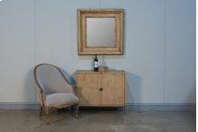 Churchill Mirror, Heather Grey