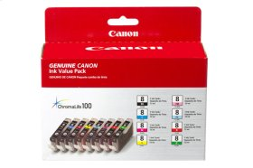 Canon CLI-8 Color Ink Multipack (8 Ink Tanks) CLI-8 8 Color Multipack