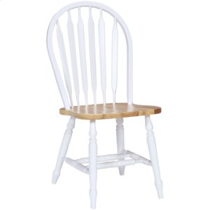 JOHN THOMAS FURNITUREArrowback Chair Natural & White