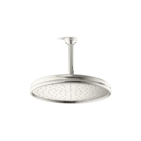 Air-Induction Large Traditional Raindome - Nickel Silver