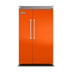 "Pumpkin 48"" Side-by-Side Refrigerator/Freezer - VISB (Integrated Installation)"