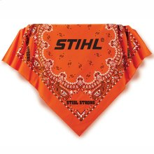 Show some STIHL style with this paisley bandanna!